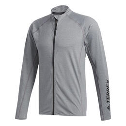 Adidas Men's Terrex Voyager Zip Long Sleeve Shirt