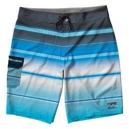 Billabong Boy's All Day X Striped Boardshorts
