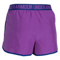 Under Armour Women's Perfect Pace Running Shorts Back