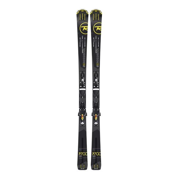 Rossignol Men's Pursuit 700 Titanium All Mountain Skis With Axial3 120 Bindings '16