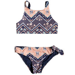 Roxy Girls' Heart In The Waves Swimsuit Set