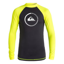 Quiksilver Boy's Lock Up Long Sleeve Rashguard