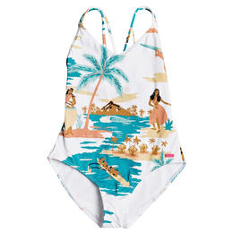 Roxy Girl's Love Waimea 1Pc Swimsuit