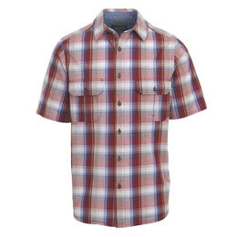 Woolrich Men's Midway Yarn-Dye Short Sleeve Shirt