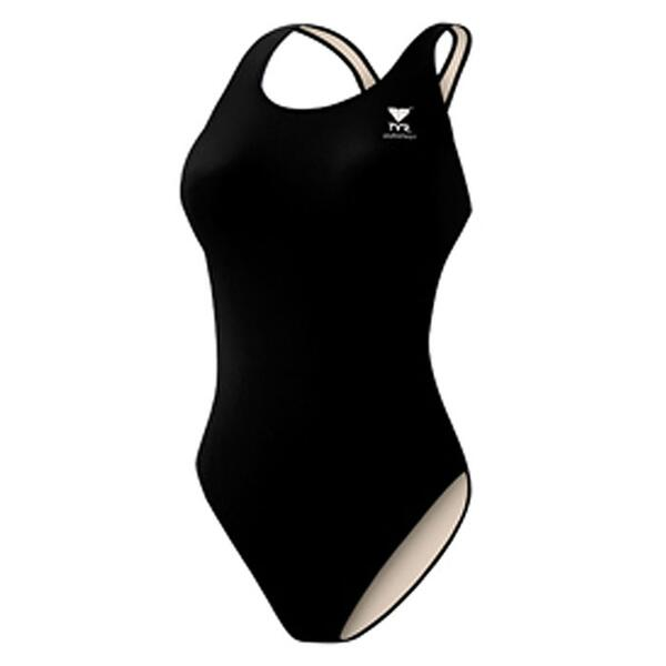 Tyr Girl's Solid Lycra® Maxback Swimsuit