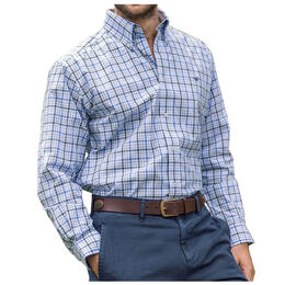 Southern Marsh Men's Calhoun Check Dress Shirt