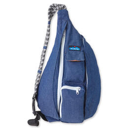 Kavu Rope Bag Backpack Denim