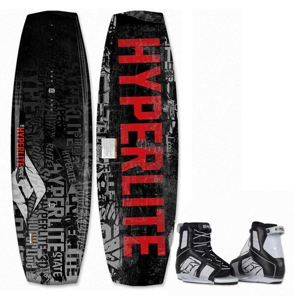 Hyperlite Men's State Wakeboard w/ Remix Bindings '13