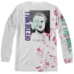 Vans Men's Eyes Open Tie Dye Long Sleeve T Shirt