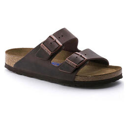 Birkenstock Women's Arizona Oiled Leather Casual Sandals - Narrow
