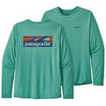 Patagonia Men's Capilene™ Cool Daily Graphic Long Sleeve Shirt alt image view 8