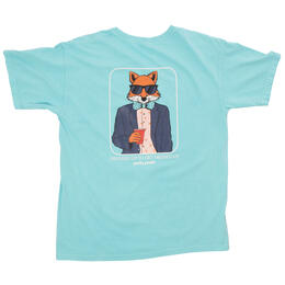 Party Pants Men's Zero Fox Short Sleeve Tee Shirt