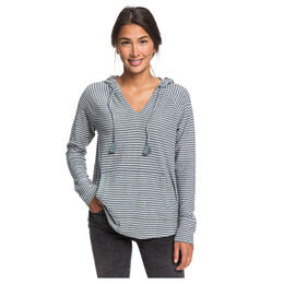 Roxy Women's Long Night Striped Hoodie