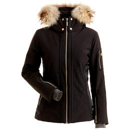 Nils Women's Isabella Fur Trim Jacket