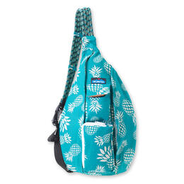 Kavu Women's Rope Bag Backpack Pineapple Passion