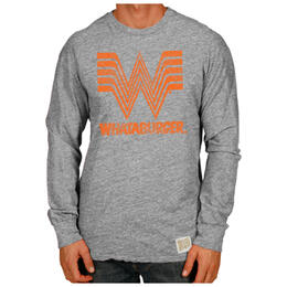 Original Retro Brand Men's Whataburger Long Sleeve T Shirt