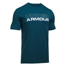 Under Armour Men's Woodmark Stack Short Sleeve Shirt