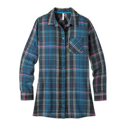 Mountain Khakis Women's Penny Flannel Tunic Top
