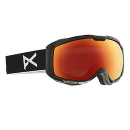 Anon Men's M1 Snow Goggles With Red Solex Lens