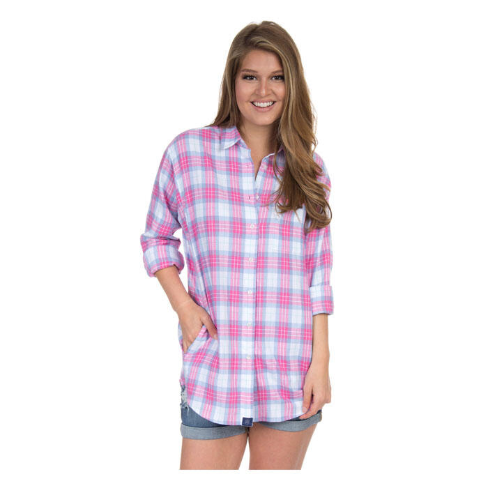 Lauren James Women's Boyfriend Flannel Shirt