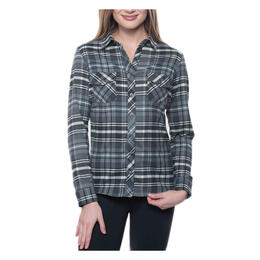Kuhl Women's Greta Flannel Long Sleeve Shirt