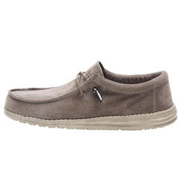 Hey Dude Men's Wally Suede Casual Shoes