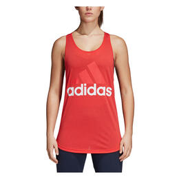 Adidas Women's Essentials Linear Loose Tank Top Real Coral