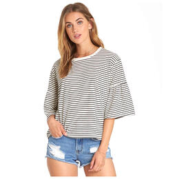 Billabong Women's Todays Crush Ruffle Sleeve Top