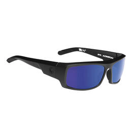 Spy Men's Admiral Polarized Sunglasses With Happy Bronze Lens Blue Spectra