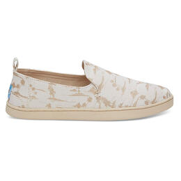 Toms Women's Decnstrctd Alpargata Slip On Shoes Gold Palms