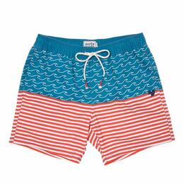 Party Pants Men's Finner Beaver Swim Shorts