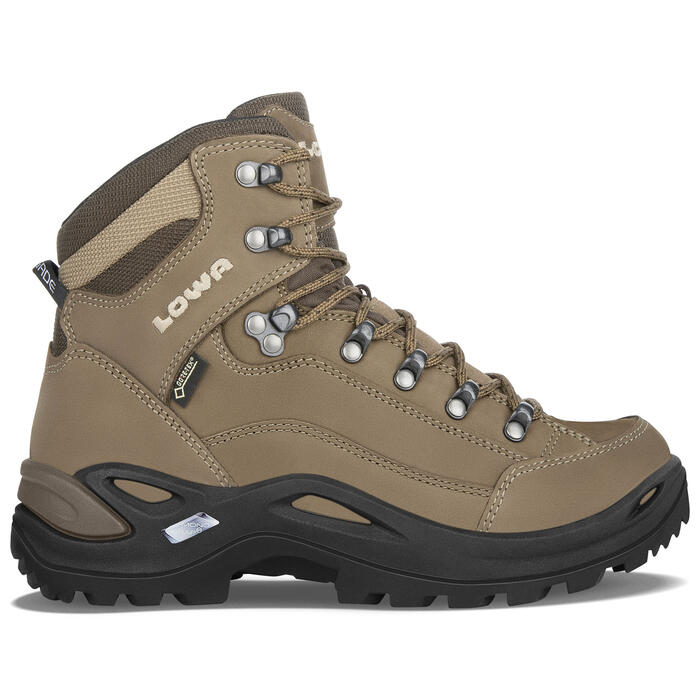 lowa women 39 s renegade gtx mid hiking boots sun ski sports. Black Bedroom Furniture Sets. Home Design Ideas