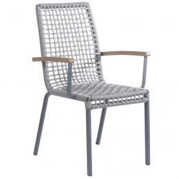 Alfresco Home Penelope Stackable Rope Dining Chair