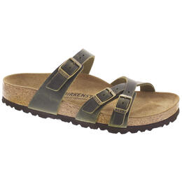 Birkenstock Women's Narrow Franca Oiled Leather Sandals