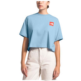 The North Face Women's Cropped Cotton Short Sleeve T Shirt