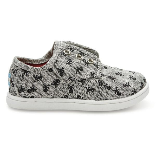 Toms Tiny Paseo Canvas Casual Shoes