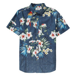 Billabong Men's Sundays Floral Button Down Shirt