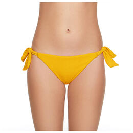 Gossip Girl Women's Pucker Up Side Tie Hipster Bikini Bottoms