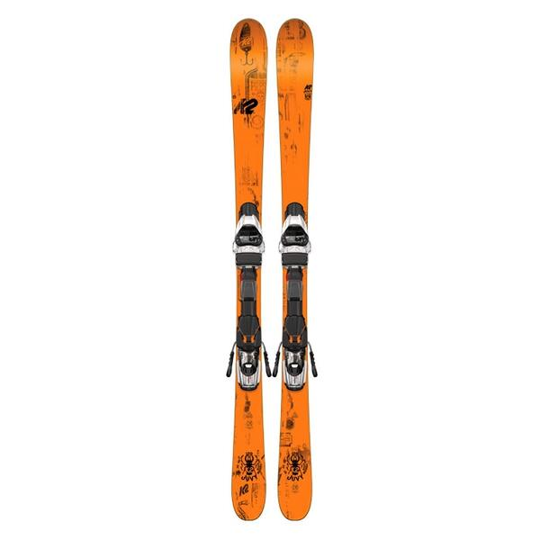 K2 Skis Youth Juvy Skis With Fastrak2 7.0 Bindings '16