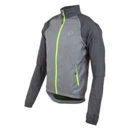 Pearl Izumi Men's Elite Barrier Convertible Cycling Jacket Smoke Pearl