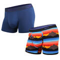 BN3TH Men's Classic Trunk Printed 2 Pack