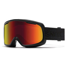 Smith Women's Riot Snow Goggles With Red Sol X Lens (Asian Fit)