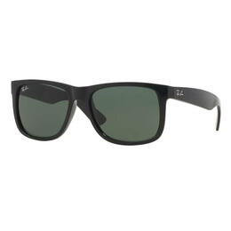 Ray-Ban Justin Classic Sunglasses With Green Lenses