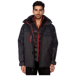 Avalanche Men's 3-in-1 System With Quilt Line Jacket