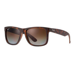 Ray-Ban Justin Sunglasses With Brown Mirror Polarized Lenses