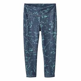 Patagonia Women's Crackle Centered Crop Capri Leggings