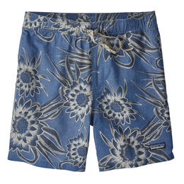 Patagonia Men's Baggies Naturals Shorts Cereus Flower/Dolomite Blue