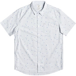 Quiksilver Men's Spilled Rice Short Sleeve Shirt