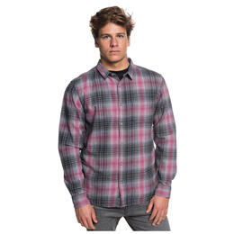 Quiksilver Men's Father Fly Woven Longsleeve T Shirt