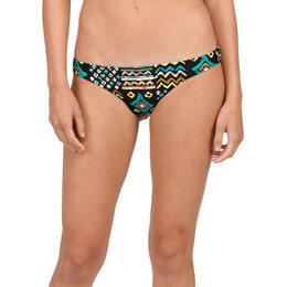 Volcom Women's Tribal Instincts Reversible Full Bikini Bottom